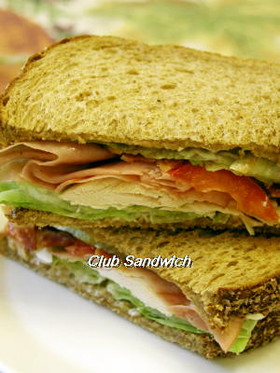 定番クラブサンドイッチ