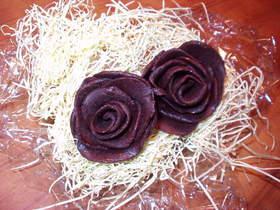 チョコ薔薇