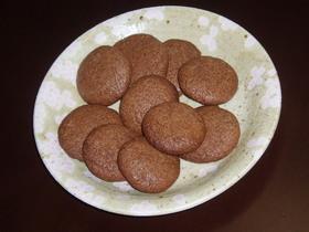 ミロでちょこっとクッキー
