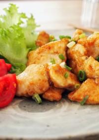 簡単♪柔らか鶏ムネ肉のポン酢焼き