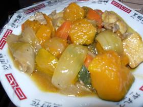 「肉かぼ」のさっぱり炒め煮