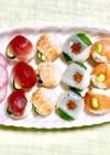 子どもの日☆鯉のぼり仕立ての手まり寿司