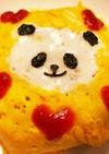 パンダのオムライス♡♡