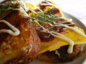 ◆お好み焼きなトースト◆