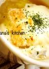 食パンで☆簡単☆オニオングラタンスープ♪