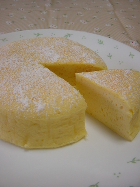 ヨーグルトのケーキ
