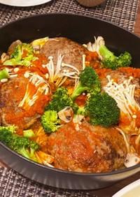 煮込みハンバーグ(トマトソース)