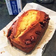 甘酒豆乳パウンドケーキ