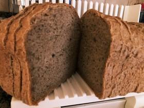 HBで作る香り高き全粒粉食パン