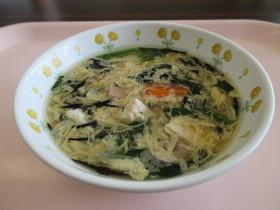 ひじきと卵のスープ ★宇都宮学校給食