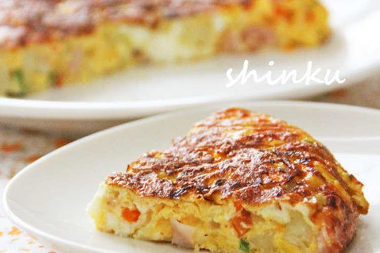 オムレツ レシピ スパニッシュ