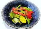 野菜たっぷりレタスとカニカマサラダ和え