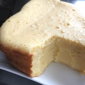 ずっしり濃厚 豆腐チーズケーキをHBで!