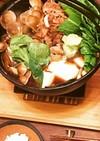 京野菜の簡単すきやき(具材は自由♪)