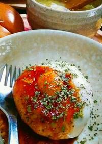 リメイク「豆腐入ポテトチーズバーグ」