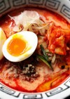 ふるるビビン冷麺で冷し担々麺