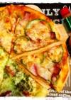 発酵なし!5分で出来る生地で簡単うまピザ