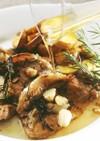 豚肉のソテー・メープルソース