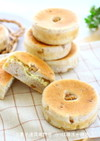 くるみとチーズの平焼きパン
