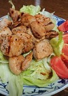 豚肩ロースのガーリックソルト焼きサラダ
