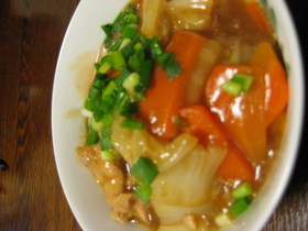 超簡単!鶏肉と野菜でさっぱり煮