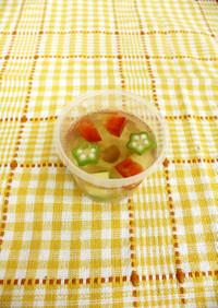 彩りゼリーサラダ