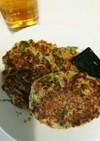 【離乳食】完了期 納豆レタスのお好み焼き