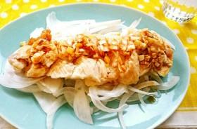 お肉柔らか☆鶏胸肉で蒸し鶏♥レンジで簡単