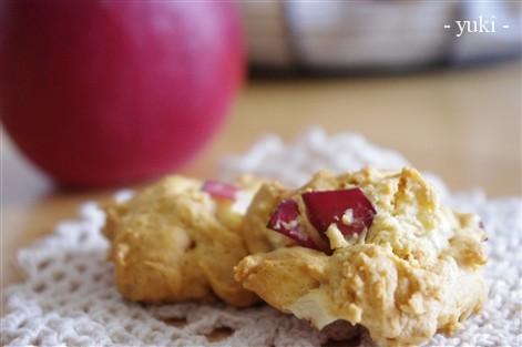 りんご入り★ドロップクッキー