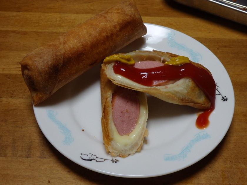 春巻きチーズドック