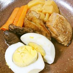 鶏モモ肉のポン酢煮