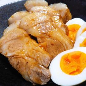 夏バテ予防☆豚肩ロースのスタミナ煮豚