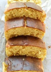簡単!ふすま粉・大豆粉柑橘パウンドケーキ