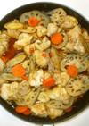 根野菜の南蛮漬け♪簡単鶏肉南蛮漬けのタレ