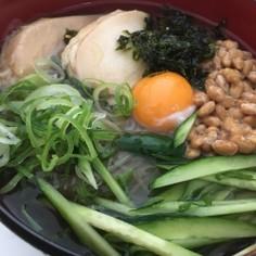タンパク質しっかりふるる冷麺