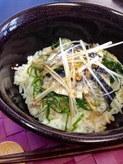 超簡単!!オイルサーディン・和風丼の写真