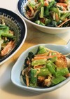 小松菜のみそマヨサラダ