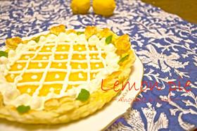 パイシートで簡単レモンパイ