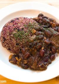 黒豆とスペアリブでフェイジョアーダ