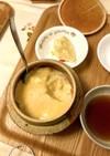 長谷園(伊賀焼)の釜飯鍋で作る土鍋プリン