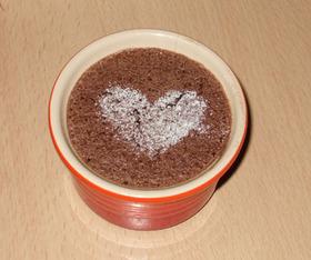 カップでガトーショコラ(低カロリー?)