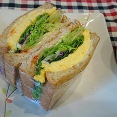 Wチーズ卵サンド
