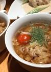 挽肉とキャベツのコンソメスープ