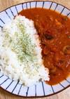 サバ味噌缶のトマトクリーム煮!