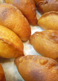 ピロシキ  発酵は炊飯器で