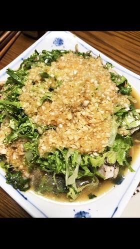野菜たっぷり☆新玉タレの鶏の蒸し焼き