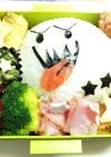 白ご飯でキャラ弁★テレサおばけハロウィン