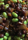 あずきと枝豆のおからチリコンカン