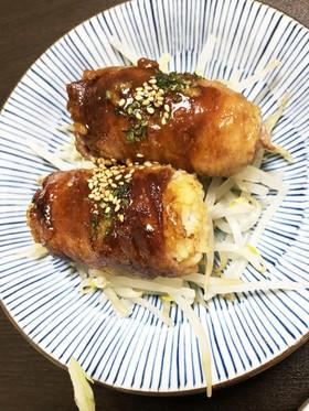 肉巻きおにぎり♡豚肉♡冷ご飯♡焼肉のタレ