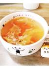 マクロビ☆レタスとトマトのスープ
